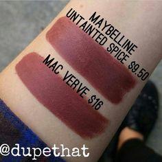 Image result for mac verve lipstick dupe