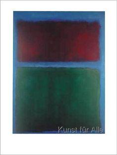 Mark Rothko - Erdbraun und Grün - 1955