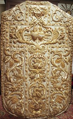 NEG011-12  Chasuble  Dutch  Produced by Paulus Sutorius, Amsterdam  Date: 1858