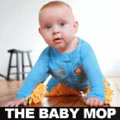 Get the BABY MOP funny shirt at Better Than Pants!