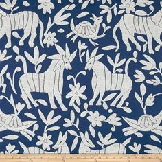 Fiesta Otomi Jacquard Navy/White Fabric Rug, Jacquard Fabric, Blue Fabric, Pottery Barn Teen Bedding, Dining Room Blue, Sewing Pillows, Luxury Bedding Sets, Toss Pillows, Home Decor Fabric