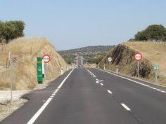 Las carreteras de Extremadura: Caminos, carreteras, autovías y autopistas.
