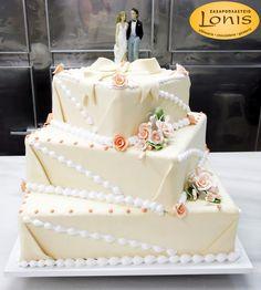 Τούρτα γάμου #wedding #cakes Vanilla Cake, Wedding Cakes, Desserts, Food, Wedding Gown Cakes, Tailgate Desserts, Deserts, Essen, Cake Wedding