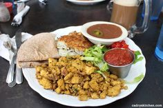 Best tofu scramble ever at Bouldin Creek Cafe + other terrific vegan restaurants in Austin, Texas | cadryskitchen.com