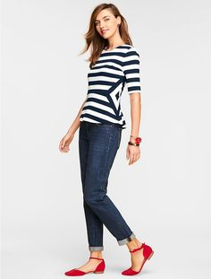 Morris-Stripes Peplu
