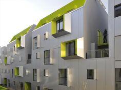DPU Social Housing in Paris by X-TU Architects