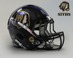 If football was played in the Star Wars universe. The Mygeeto Siths. ( Baltimore Ravens )
