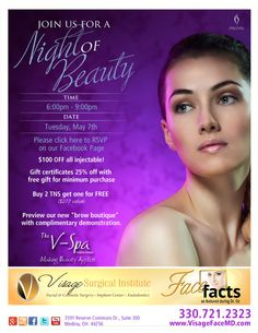 Night of Beauty | Visage Surgical Institute