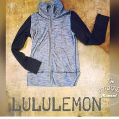 Lululemon turtleneck running jacket! Size 8!  - With Fall right around the corner, you will need/want this jacket! It is like-new! org retail $128 Sp-$58  #lululemon #luluaddict #musthave #workit #hustle #shop #posh #dontpayretail