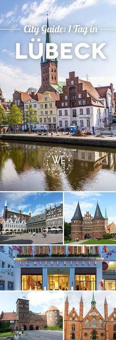 Kurztrip Deutschland: Lübeck Reisetipps für einen Tag. Lübeck Sehenswürdigkeiten, Tipps und Highlights. #kurztrip #städtereise #citytrip #cityguide