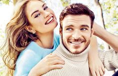 Lily James & Richard Madden