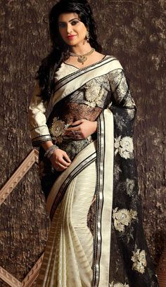 Indian Wedding Sari, Saree Wedding, Crepe Silk Sarees, Tussar Silk Saree, Latest Designer Sarees, Buy Designer Sarees Online, Indian Designer Sarees, Saris, Black Net Saree