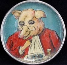 pig at dinner, dexterity puzzle