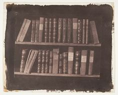 William Henry Fox Talbot: A Scene in a Library (2005.100.172) | Heilbrunn Timeline of Art History | The Metropolitan Museum of Art