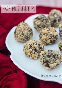 Serve a sweet ending to a special meal with your sweetie — these hazelnut truffles are easy yet impressive.