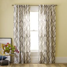 Ordered our curtains for the living room from West Elm. Fingers crossed that I will like them once we put them up!