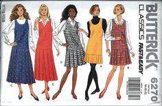 Fast & Easy Butterick 6270 Misses Jumper by DawnsDesignBoutique, $9.00