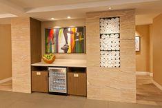 JW Marriott Essex House, NY   Porcelanosa - Sandstone ceramic tile - very pretty