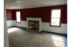 Wainscoting Around Fireplace Home Away In 2019
