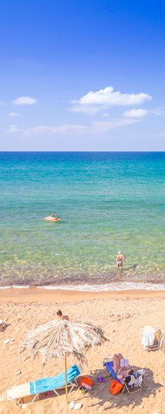 Relaxation on the beach No1: Scaleta in Rethymno, Crete