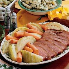 St. Pat's Day is coming and since I was raised in Savannah GA where the day is celebrated with great passion, I have to note the day with some appropriate foods and practices. (Wear green that day or a leprechaun will pinch you!)   Corned Beef and Cabbage