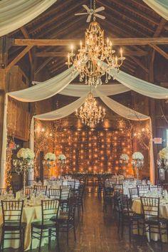 THE BARNS AT WESLEYAN HILLS Wedding - Rustic Wedding Chic
