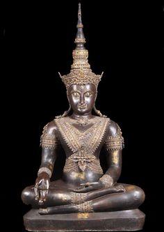 """Royal Ayutthaya Buddha Statue 54"""""""