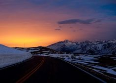 Trail Ridge Road--the highest road in the US, Rocky Mountain National Park, Colorado