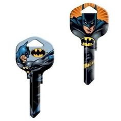 If Batman is good enough to protect Gotham, he is good enough to entrust with your house key. The Batman SC1 House Keys will be the coolest key on your keyring. They are perfect key for your Batcave.  Thegenuine licensed DC Comics key