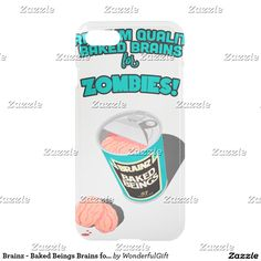 Brainz - Baked Beings Brains for Zombies
