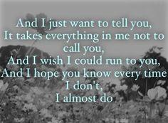 Taylor swift, I almost do, lyrics, song, red album