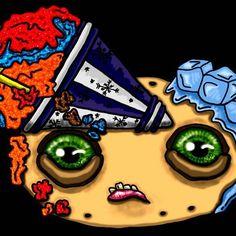 Digital painting of my original Abnormalz sketch finished. Now to create the logo layout 🎨🍭 . . . #abnormalz #abnormalzsosweetz #creepy #strange #toyart #darkart #macabre #handmadeinaustralia #circus #freakshow #fantasy #bespoke #welovecollect #instagramart #magic #beautifulbizzare #artoninstagram #polymerclay #artistic_share #toys #handmadetoys #art #scifi #artoftheday #instacool #etsyseller #instadaily #instagood #instashare #etsy Vintage Circus, Macabre, Handmade Toys, Dark Art, Doll Toys, Art Day, Art Dolls, Bespoke, Creepy