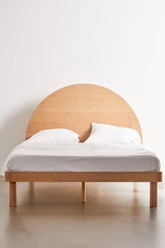 Tabitha Bed | Urban Outfitters Bamboo Beaded Curtains, Full Bed Frame, Closet Curtains, White Oak Wood, Velvet Bed, Wood Headboard, Upholstered Sofa, Duvet Sets, Wood Veneer