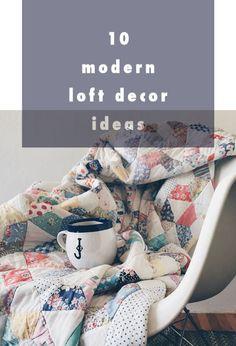 10 modern loft decor ideas