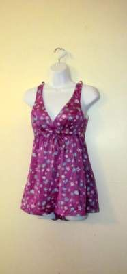 Lovely FLORAL Printed VINTAGE Swimsuit by BeauMondeVintage on Etsy, $30.00