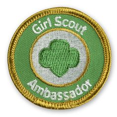 Girl Scout Ambassador Sew-On Patch
