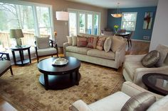 Transitional (Eclectic) Living Room by Sherry Burton Ways