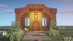 5 Entrance designs :) What designs do you want to see next ? [Texture pac 5 Entrance designs :) What designs do you want to see next ? Minecraft Farmen, Casa Medieval Minecraft, Construction Minecraft, Cool Minecraft Houses, Minecraft Crafts, Minecraft Buildings, Minecraft Decorations, Minecraft Survival, Minecraft Wall Designs