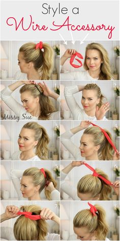 Missy sue..how to wear accessory in many ways