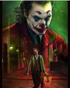 The Joker with Joaquin Phoenix Joker Film, Joker Comic, Joker Dc, Joker And Harley Quinn, Jared Leto Joker, Joker Poster, Phoenix Art, Joker Phoenix, Heath Ledger Joker