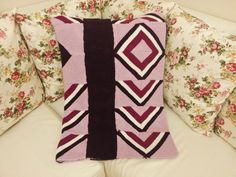 Squares  Knitting 4 Colours Blanket or Couch Cover  by Nakishane