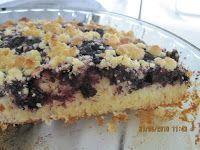 Kakkutaikuri: Mustikka-murupiirakka ja vaniljakastike