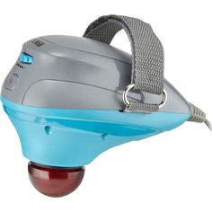 HoMedics - Mercury™ Percussion Massager with Heat - Blue/Grey, SR-PRCM