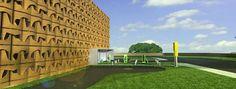 Πρόταση 030413 για τον Αρχιτεκτονικό Σχεδιασμό κτιριακού οργανισμού που θα στεγάσει Μονάδα Παραγωγής Ηλεκτρικής Ενέργειας ισχύος 1Mw από Φυτική Βιομάζα (Woodchip), ενόψει της έναρξης υλοποίησης εγκατάστασης Μονάδων 1Mw από την Dos Energy .