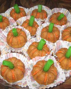 Mini Pumpkin Cakes Recipe