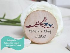 wooden Save The Date Magnet, Rustic Wedding Magnet, destination Save the Date Personalised Wedding Invite,rustic Wedding favor Magnet Wedding Favours Magnets, Rustic Wedding Favors, Personalised Wedding Invitations, Beach Wedding Invitations, Wedding Invitation Wording, Personalized Wedding, Invite, Wedding Ideas, Rustic Save The Dates