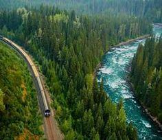 Mountain train.. Canadá