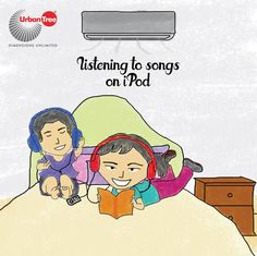 We used to have a walkman and now its iPod. Listening to songs, exchanging playlists and making our friends and cousins listen to our favorite songs.
