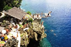 Philippines: (Boracay) Ariel's Point - Beautiful View and Cliff-diving. Missing this place today! @Julianna Monceaux