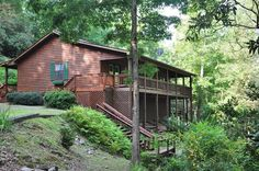 Greens Creek Fishing Retreat    Minutes From Dillsboro And Sylva With  Restaurants, Hiking And. Luxury Rental Cabins In The North Carolina ...